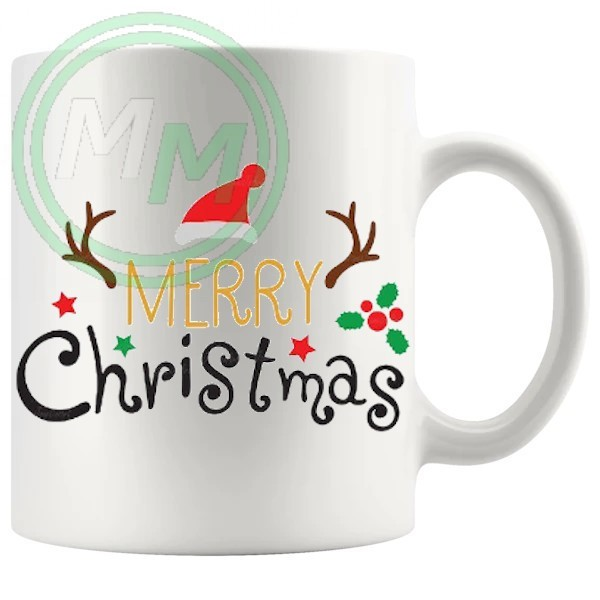 merry christmas novelty mug