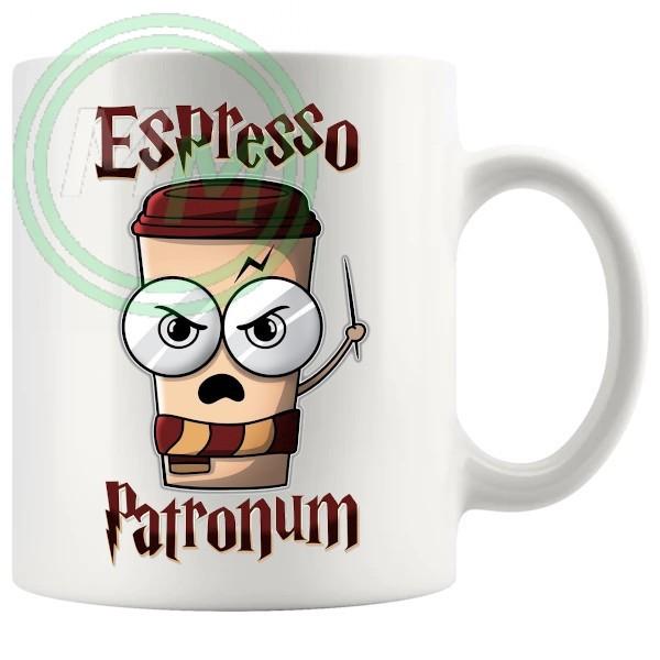 expresso patronum novelty mug