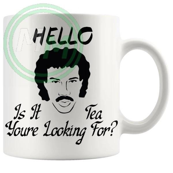 hello is it tea youre looking for novelty mug