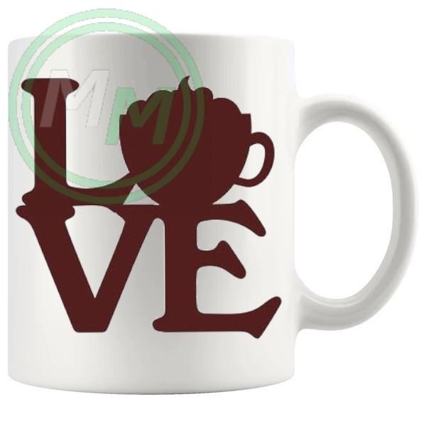 love coffee novelty mug