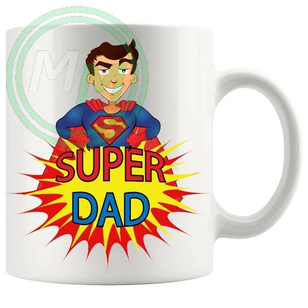 superdad novelty mug