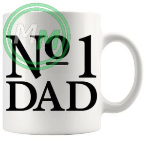 no1 dad Novelty Mug