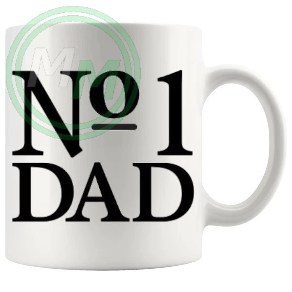 no1 dad Novelty Mug