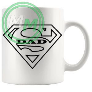super dad Novelty Mug