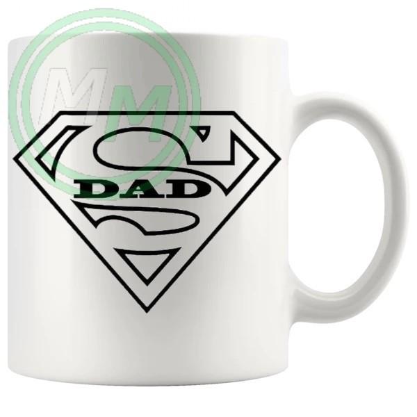 super dad Novelty Mug