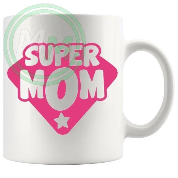super mom novelty mug
