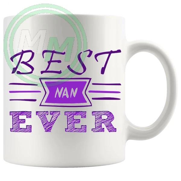 best nan ever style 2 novelty mug
