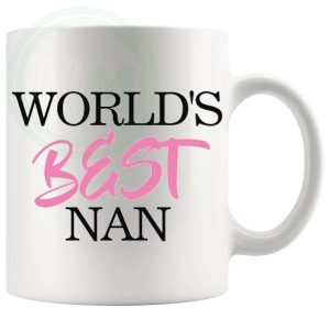 worlds best nan novelty mug