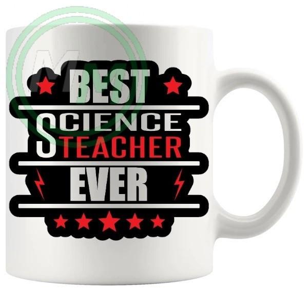 best science teacher ever novelty mug