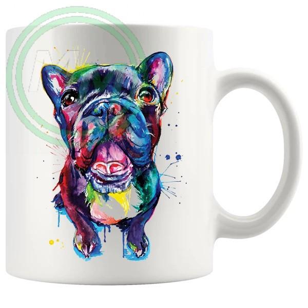 painted dog05 Artistic Novelty Mug