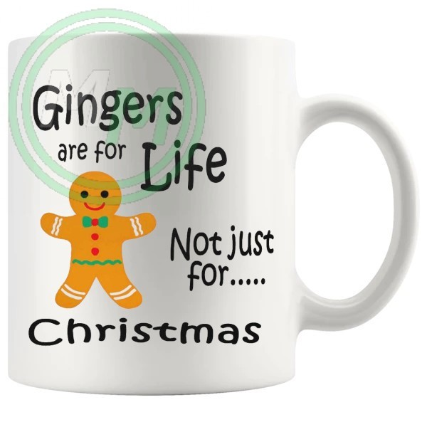 gingers are for life Novelty Mug