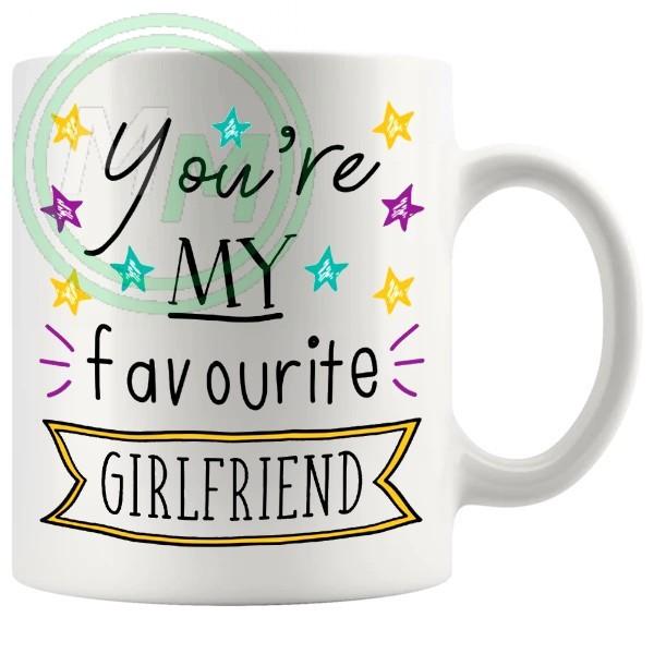 my favourite girlfriend Novelty Mug