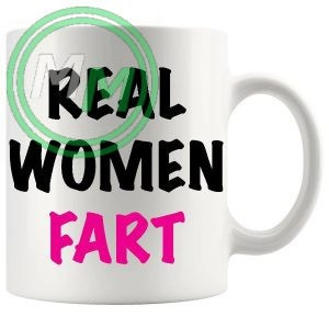 real women fart Novelty Mug