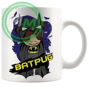 bat pug Novelty Mug