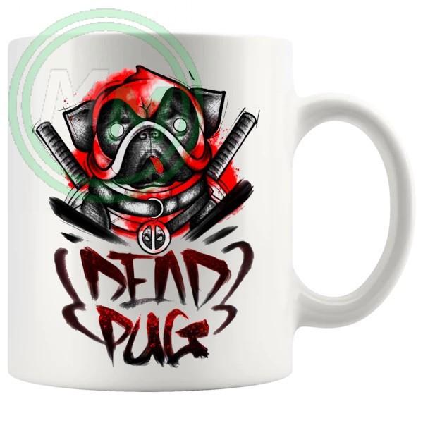 deadpug deadpool mug