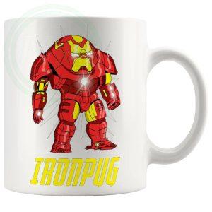 iron pug Novelty Mug