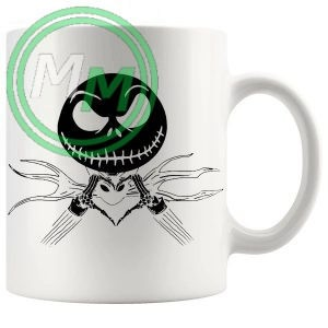 lovejack jack skellington Novelty Mug
