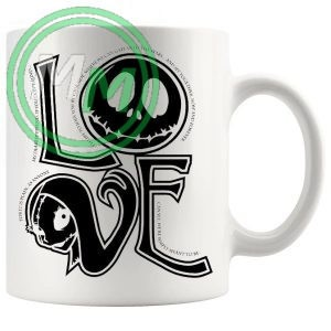 jack skellington love Novelty Mug