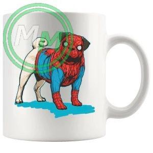 spider pug Novelty Mug