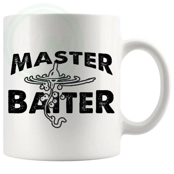 Master Baiter Fishing Mug
