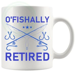 OFISHALLY RETIRED MUG