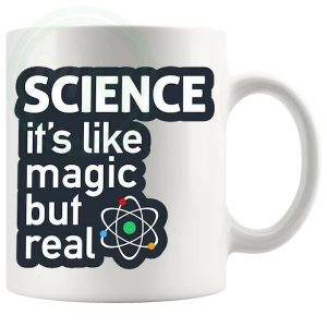 Science its like magic but real mug
