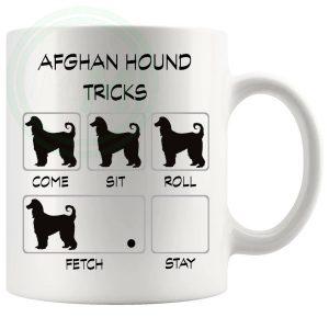 Afghan Hound Tricks Mug