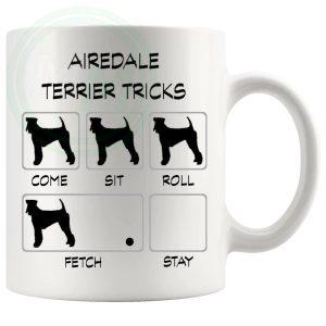 Airedale Terrier Tricks Mug