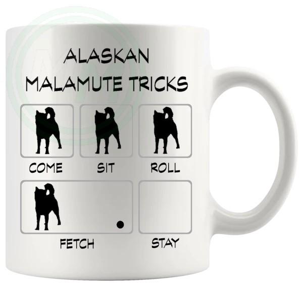 Alaskan Malmute Tricks Mug