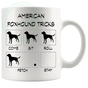 American Foxhound Tricks Mug