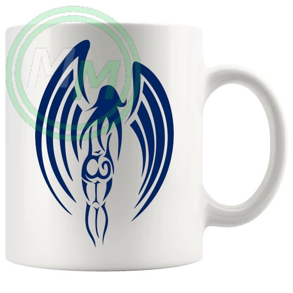 Guardian Angel Mug in Blue