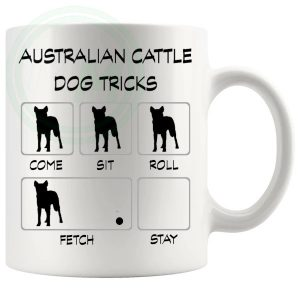 Australian Cattle Dog Tricks Mug
