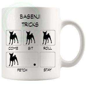 Basenji Tricks Mug