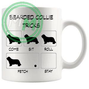 Bearded Collie Tricks Mug