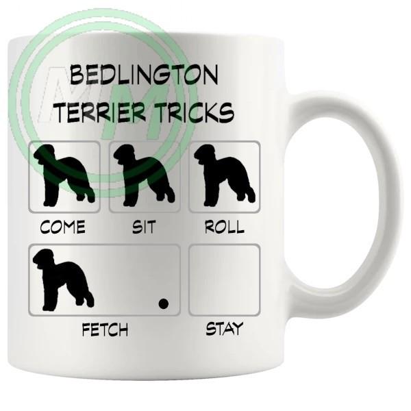 Bedlington Terrier Tricks Mug