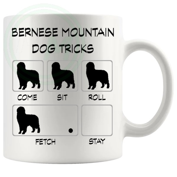 Bernese Mountain Dog Tricks Mug
