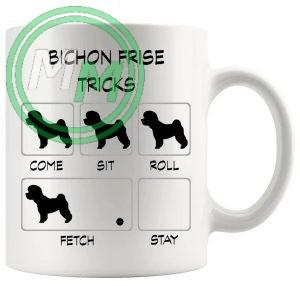 Bichon Frise Tricks Mug