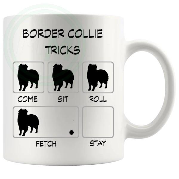 Border Collie Tricks Mug