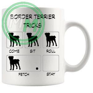 Border Terrier Tricks Mug