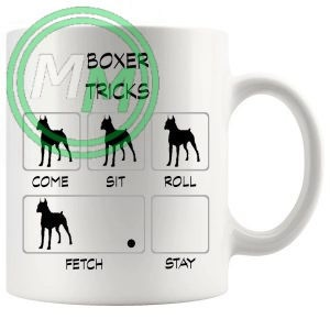 Boxer Tricks Mug