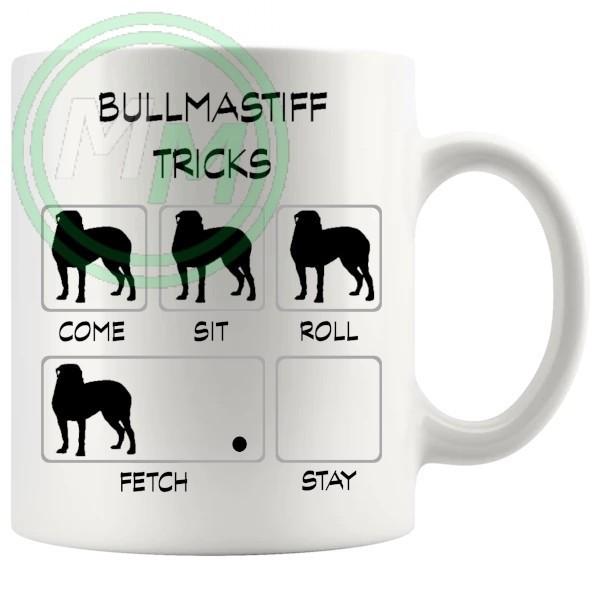 Bullmastiff Tricks Mug