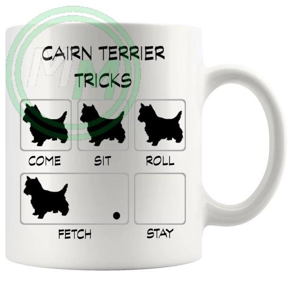 Cairn Terrier Tricks Mug