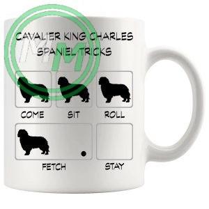 Cavalier King Charles Spaniel Tricks Mug