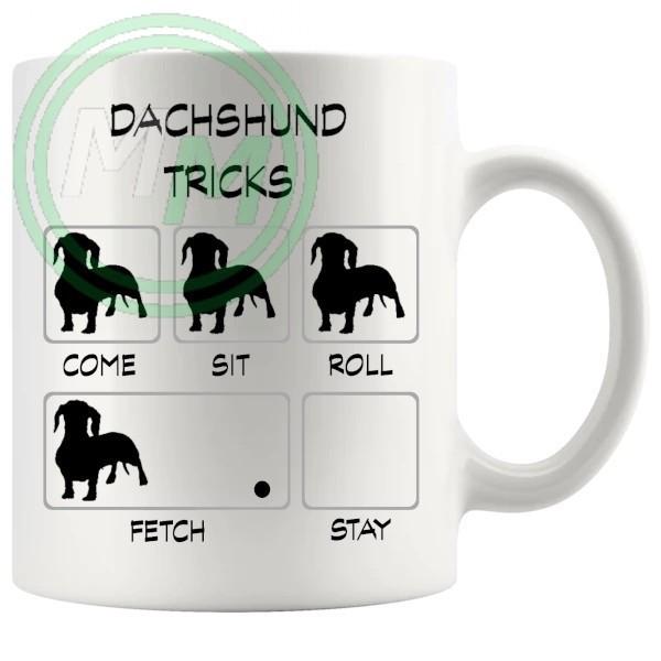 Dachshund Tricks Mug