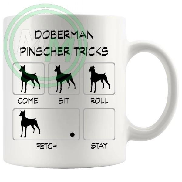 Doberman Pinscher Tricks Mug