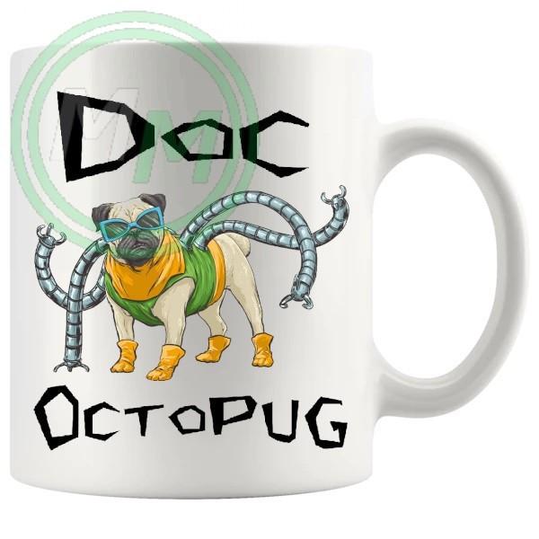 Doc Octopug Novelty Mug