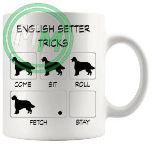English Setter Tricks Mug