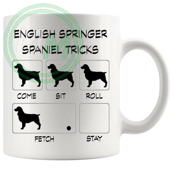English Springer Spaniel Tricks Mug