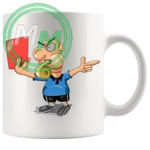 Football Fan Novelty Mug