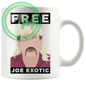 Free Joe Exotic Novelty Mug
